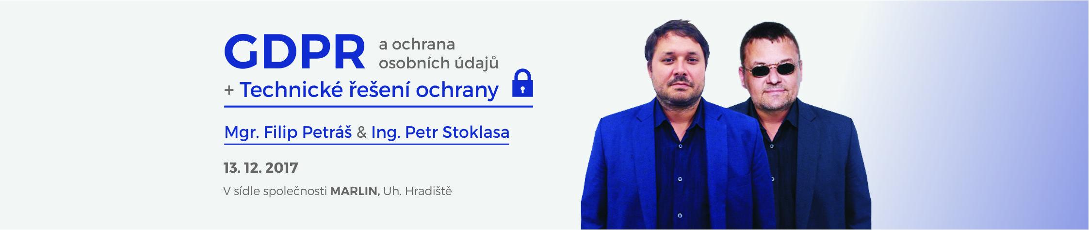 GDPR - ochrana osobních údajů + technické řešení ochrany