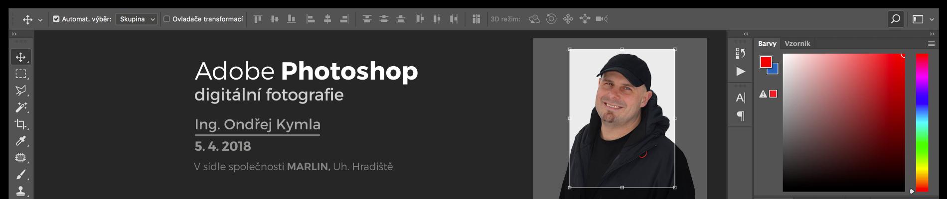 Adobe Photoshop – digitální fotografie