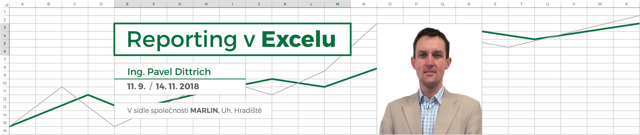 Excel - úprava a zpracování sestav z podnikových ERP systémů